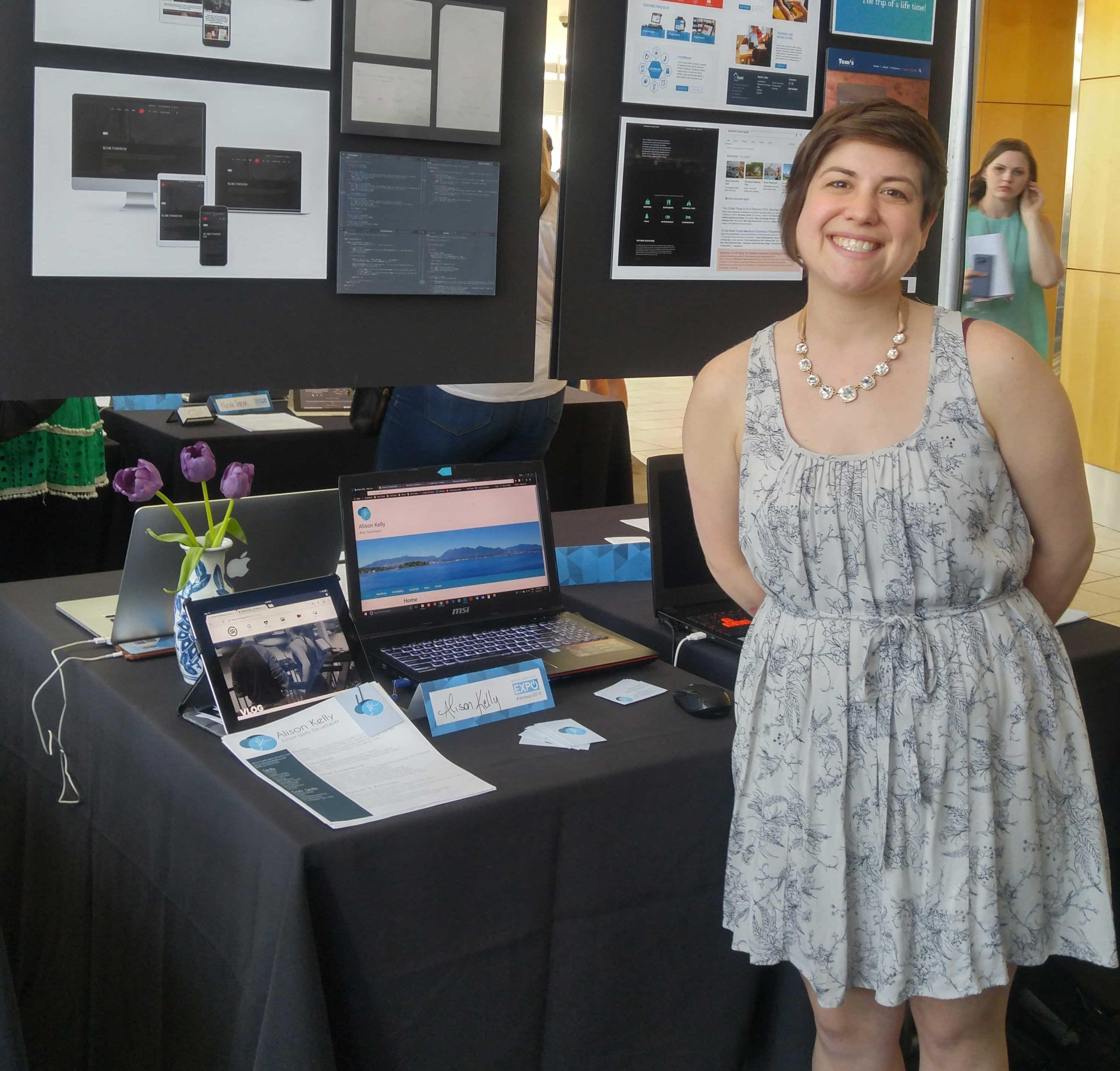 My display at the NAIT Expo 2018
